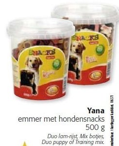 2 x Trainings snoepjes in pot groot 500 gram